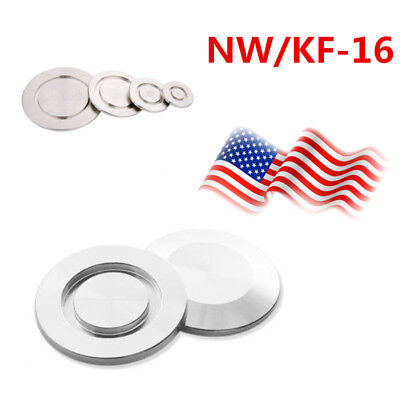 2pcs KF-16 Blank Flange, Blind Flange Cap, Vacuum Fitting,Stainless Steel USA