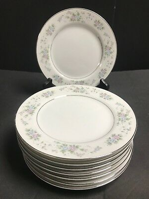 "(8) Carlton Japan Corsage pattern  Bread & Butter Plates 6 1/4"" pattern   # 481"