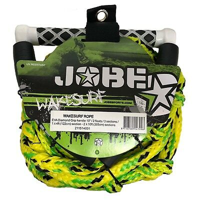 Jobe Wakesurf Handle & 24ft Waterski Wakeboard Kneeboard Rope