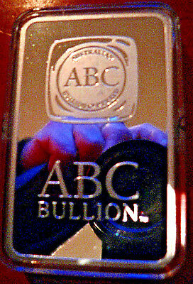 ABC .999 PURE FINE SILVER MINTED 500GM BAR #003245 FREEPOST with TRACKING