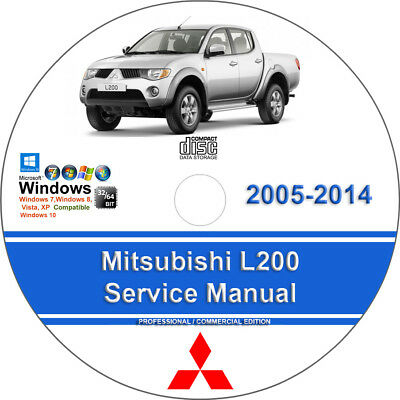 *WORKSHOP MANUAL SERVICE /& REPAIR GUIDE for MITSUBISHI L200 2001-2005