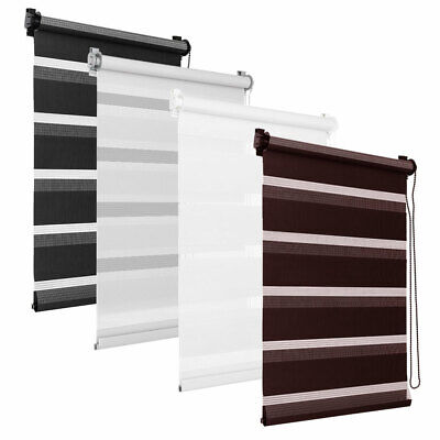 Day and Night Zebra/Vision Window Premium Roller Blinds Colours Sizes Ready Made