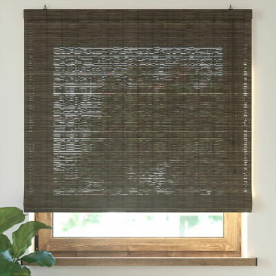 Roman Oriental Bamboo-Like Natural New Window Roller Blinds Width Sizes Designs
