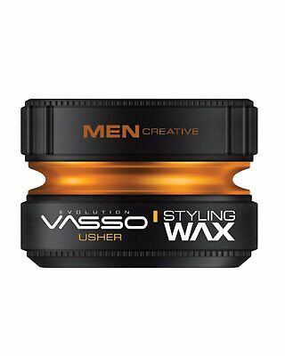 Vasso ® Pro-Aqua Usher - Hair Styling Wax - Water Based Gel Wax - Pomade *150Ml*