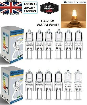 G4 20w Capsule Lamps Bulb Best For Replacement 12V Pack Of 1-5-10-20
