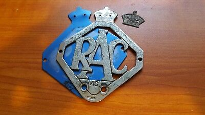 RACV  badge - Type 6A - Early 1950's