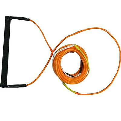 Konex Pro Wakeboard Round Suede Handle & Spectra Dynema Rope ORANGE KP1