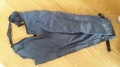 Dublin childs waterproof chaps size Small Navy