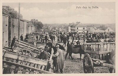 F12 Postcard  Of Fair Day In Balla County Mayo Ireland