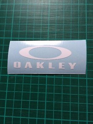 Oakley O 100mm Helmet Bike Car Decals stickers all colours Free POST