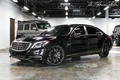 2016 Mercedes-Benz S-Class S600 Maybach MSRP $194,865.00 EXECUTIVE REAR SEAT PACKAGE! CLEAN CARFAX CERTIFIED