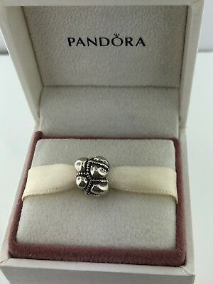 Authentic Pandora 925 ALE Sterling Silver PATCHWORK JOURNEY #790401 Retired
