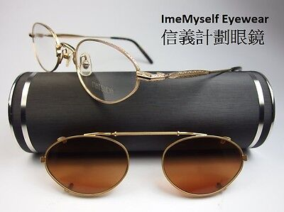[ImeMyself Eyewear ] Matsuda 10120 Clip on sunglasses optical prescription frame