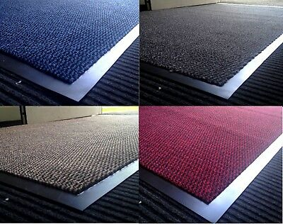 Large & Small Anti Slip Heavy Duty Rubber Barrier Mat Rugs Indoor Outdoor Home