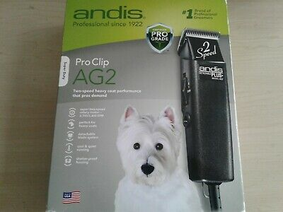 Andis ProClip AG2 Speed Detachable Blade Clipper, ( Open Box ) free shipping