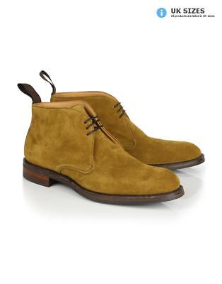 c14b95c395c5 Cheaney Men's Made in England Jackie III R Chukka Boots - Maracca Suede