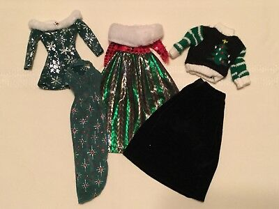 """Lot of Barbie Doll Clothes ~ """"Winter Wonders"""""""