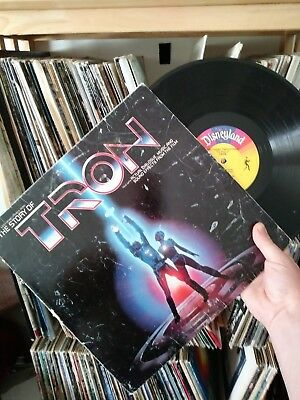the story of Tron vinyl record