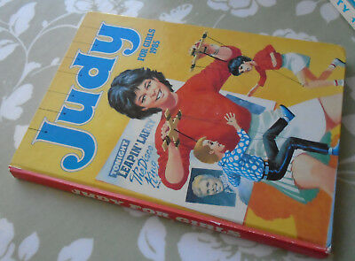 Judy 1985 Annual For Girl's Children's Book