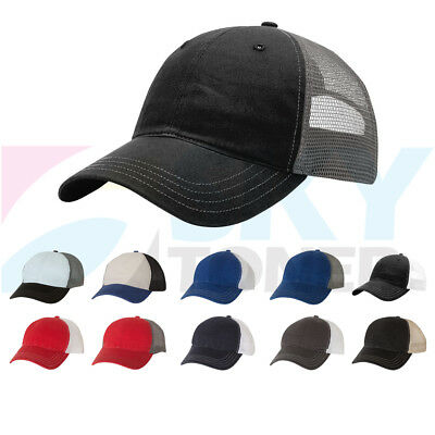 0400241f61d New Richardson Garment Washed Trucker Baseball Cap Snapback Mesh Back Hat  111