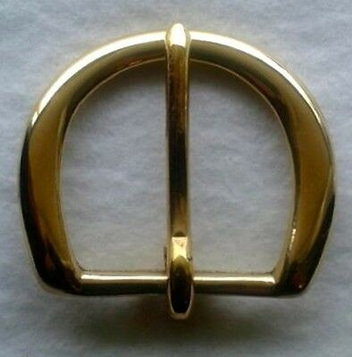 "1-3/4""  Solid Brass belt buckle"