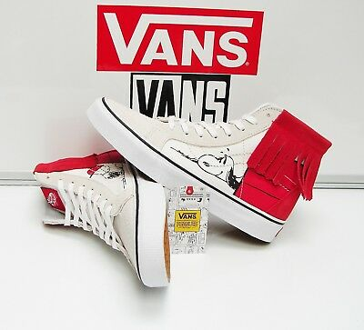 68fbb5dde97192 VANS SK8 HI MOC Peanuts Dog House Bone Women s Shoes 6 -  55.00 ...