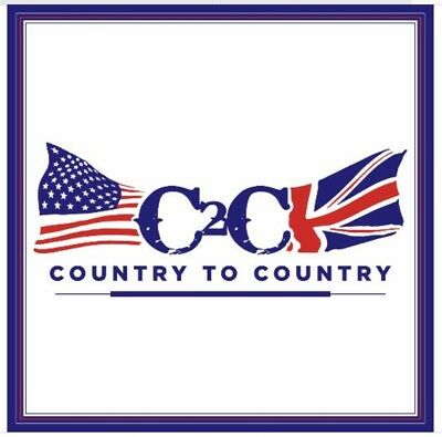 2 tickets to Country2Country Concert. London O2. Friday 9th March 2018.