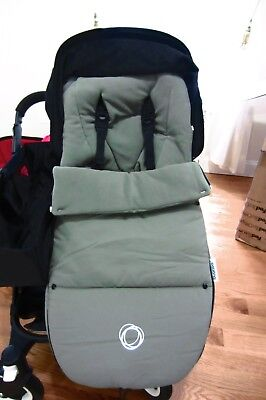 Bugaboo Olive Green Footmuff - New (other)