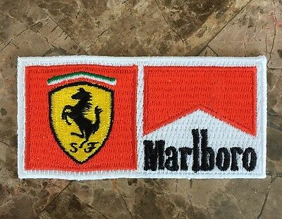 RARE Official Ferrari F1 Marlboro Uniform Patch - Schumacher Circa Early 2000's