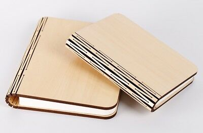 Rechargeable LED Wooden White Maple Folding Book Lamp Desk Table Bedroom