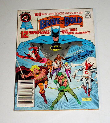 Brave And The Bold  Dc Blue Ribbon Digest #26 100 Pages