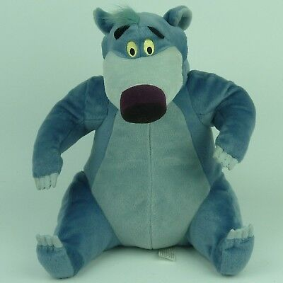 "BALOO BEAR JUNGLE BOOK Disney, Talking Soft Plush, Hasbro 11"" Working Sounds"