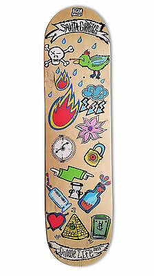 "skateboard by @matdisseny - skate art recycled deck ""Choose life"""