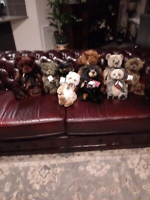 Charlie Bears Collection beautiful bears excellent condition