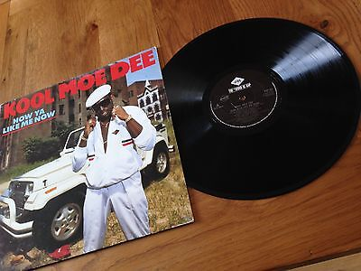 Kool Moe Dee How Ya Like Me Now LP Hip Hop Rap Jive HIP 53 1987
