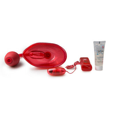 You2Toys - Jouets Vagin - Ventouse vaginale et vibrante rouge
