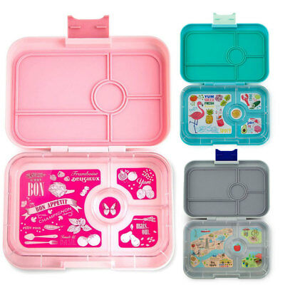 Yumbox Tapas 4 Compartment Bento Lunch Box Lunchbox Leakproof Kids/Adults