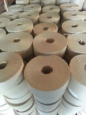 GUMMED TAPE*REINFORCED*8 RLS BROWN 450 FT 72mm 54.00 CASE SPECIAL LOTS FREE SHIP