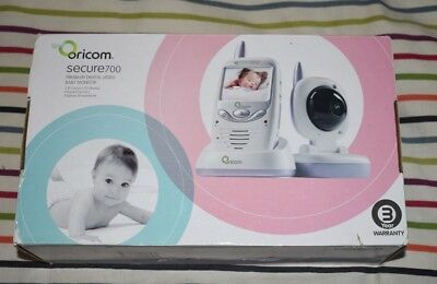 Oricom Secure 700 Baby Video Monitor Pre Owned Very Good Working Condition