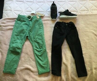 Boys Mixed Items Jeans Shorts Sneakers Bardot Junior Cotton On Size 3 4