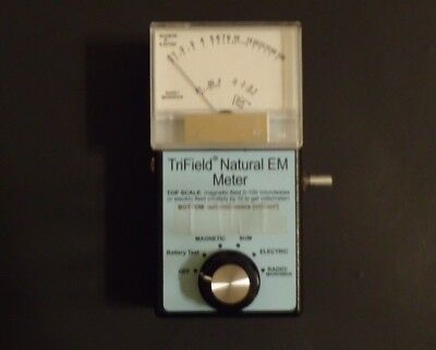 Trifield Natural EM detects DC EMFs Great for paranormal Microwave Magnetic Test