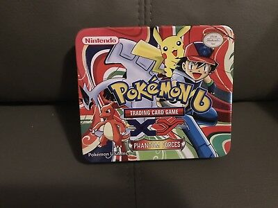 Pokemon Trading Card Tin (15 X 13cm)