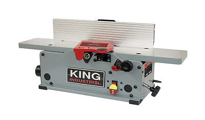 "King Canada Tools KC-6HJC 6"" BENCHTOP JOINTER WITH HELICAL CUTTERHEAD"