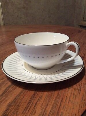 """Royal Doulton """"Debut"""" Cup And Saucer H4941"""