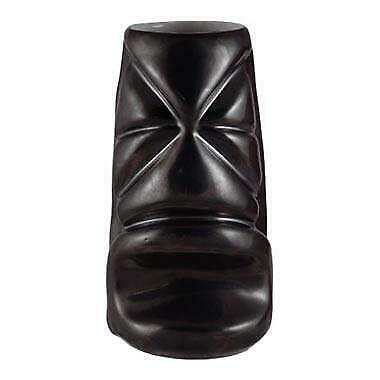 "Ceramic ""Gun Metal Black"" Tiki Mug (355ml / 12oz)"