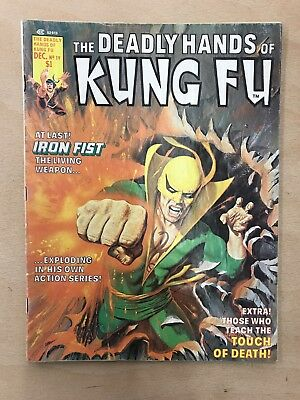 Deadly Hands Of Kung Fu #19 ⭐️ 1st First White Tiger ⭐️ FN ⭐️ Marvel