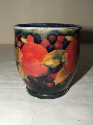 Moorcroft Art Deco Pomegranate & Berries Vase Truly Fabulous