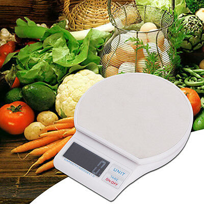 5kg LCD Electronic Digital Kitchen Scale Balance Weight Food Diet with USB Cable