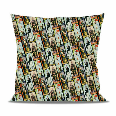 Haunted Mansion Stretch Paintings Fleece Cushion - Heart, Round or Square Shaped