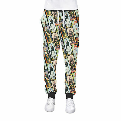 Haunted Mansion Stretch Paintings Cuffed Joggers Sweatpants